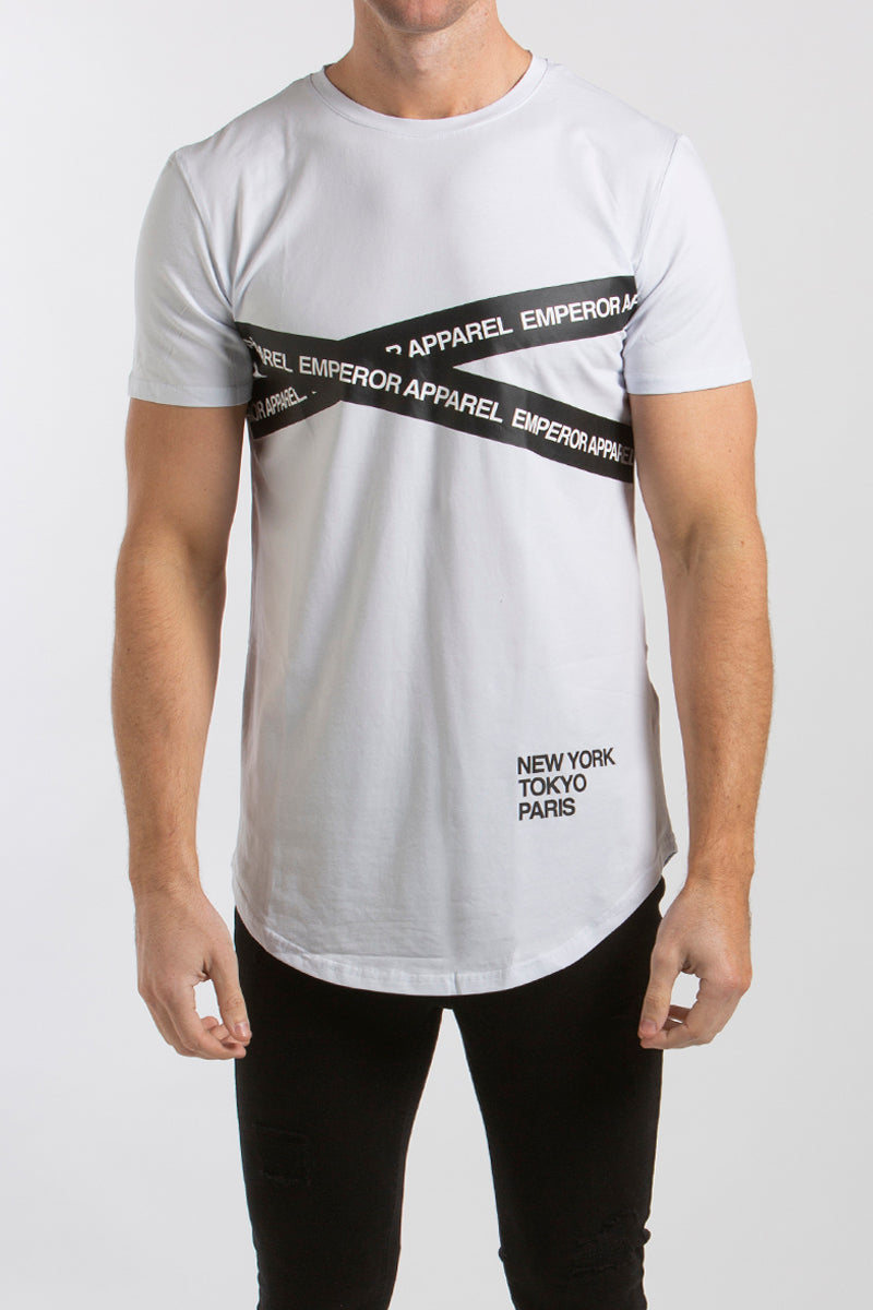 Achtung T-Shirt (White) - 1 left!