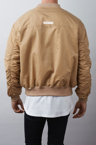 Sokar Bomber Jacket - Tan