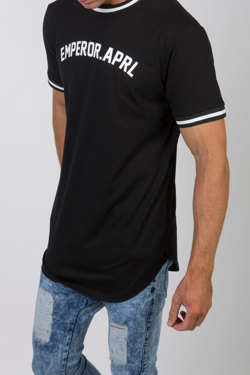 Baseball T-shirt (Black)