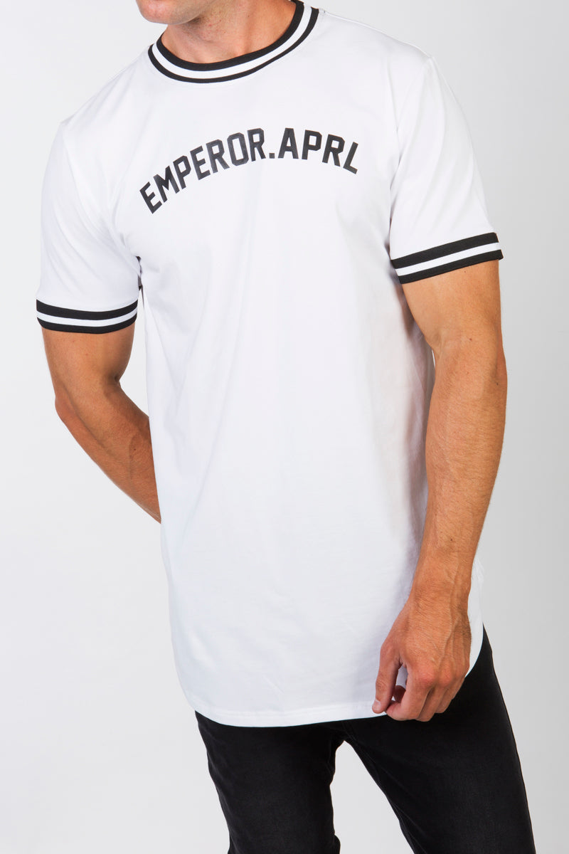Baseball T-shirt (White)