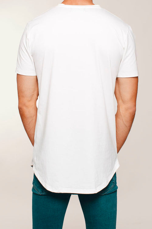 Basic Scoop T-Shirt (White)