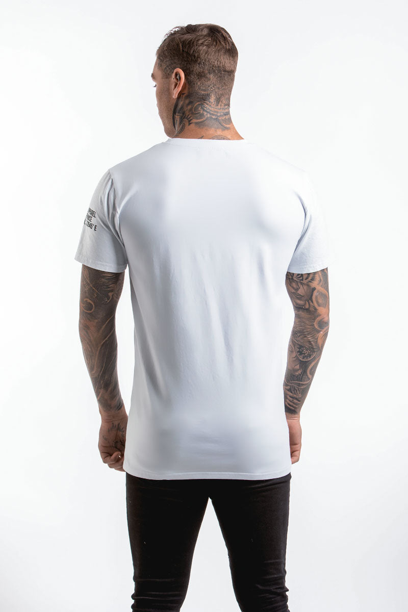 Block Logo T-Shirt (White/Black) - 1 left!