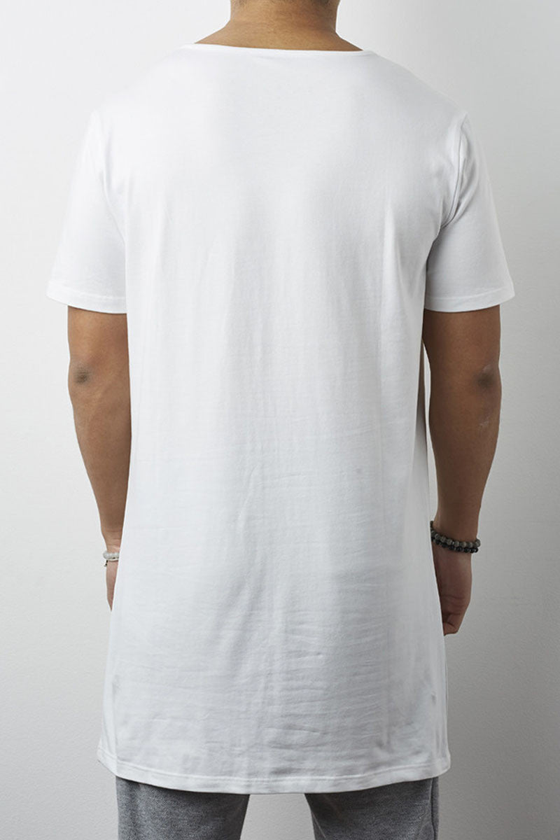 Brooklyn Tall T-Shirt (white) - 1 left!