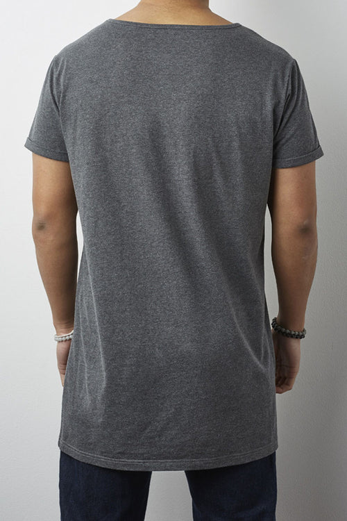 Brooklyn Tall T-Shirt (Grey Marle)