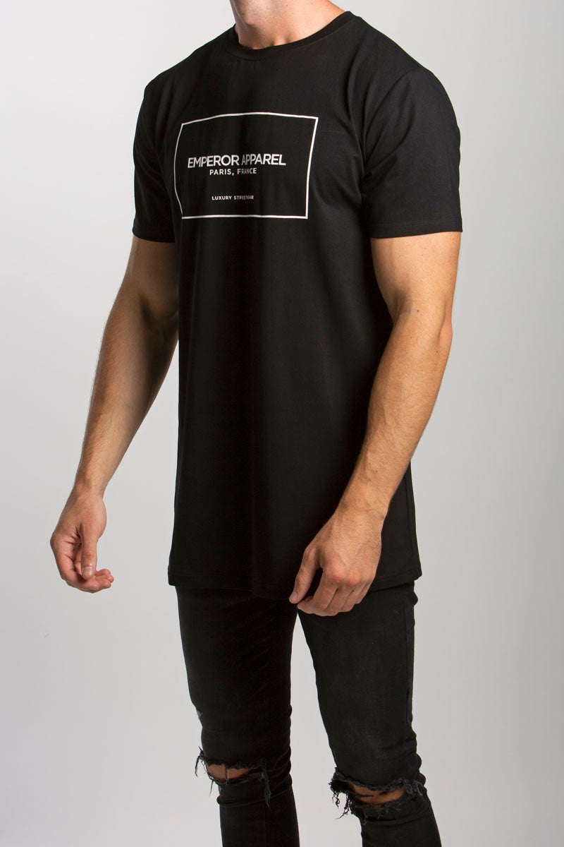 Chic T-Shirt (Black) - 1 left!