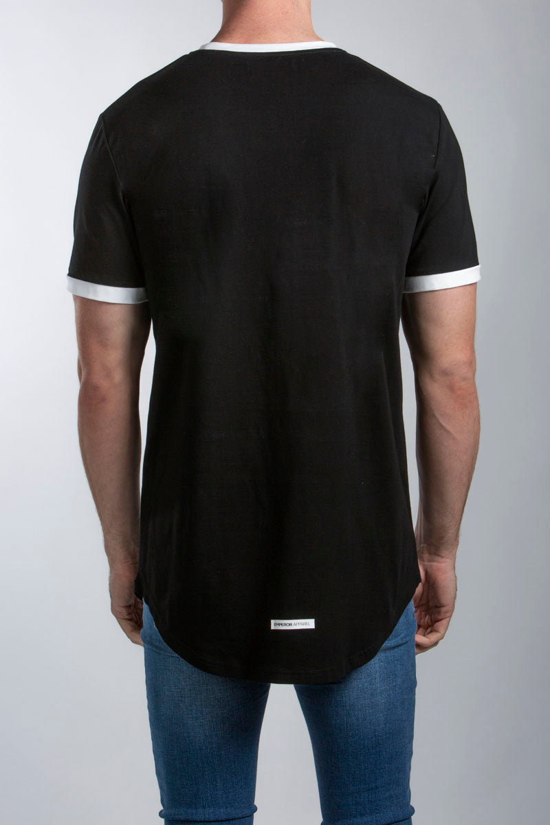 Gio Scoop T-Shirt (Black)