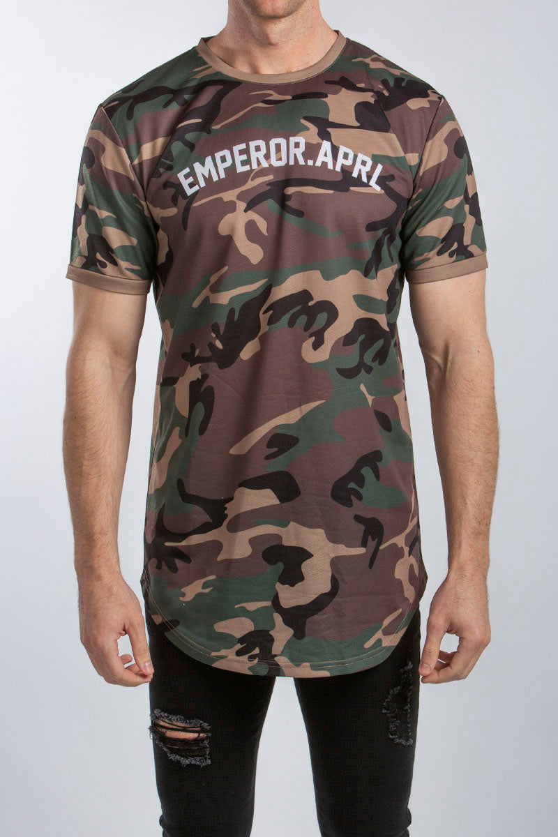 Gio Scoop T-Shirt (Camo)
