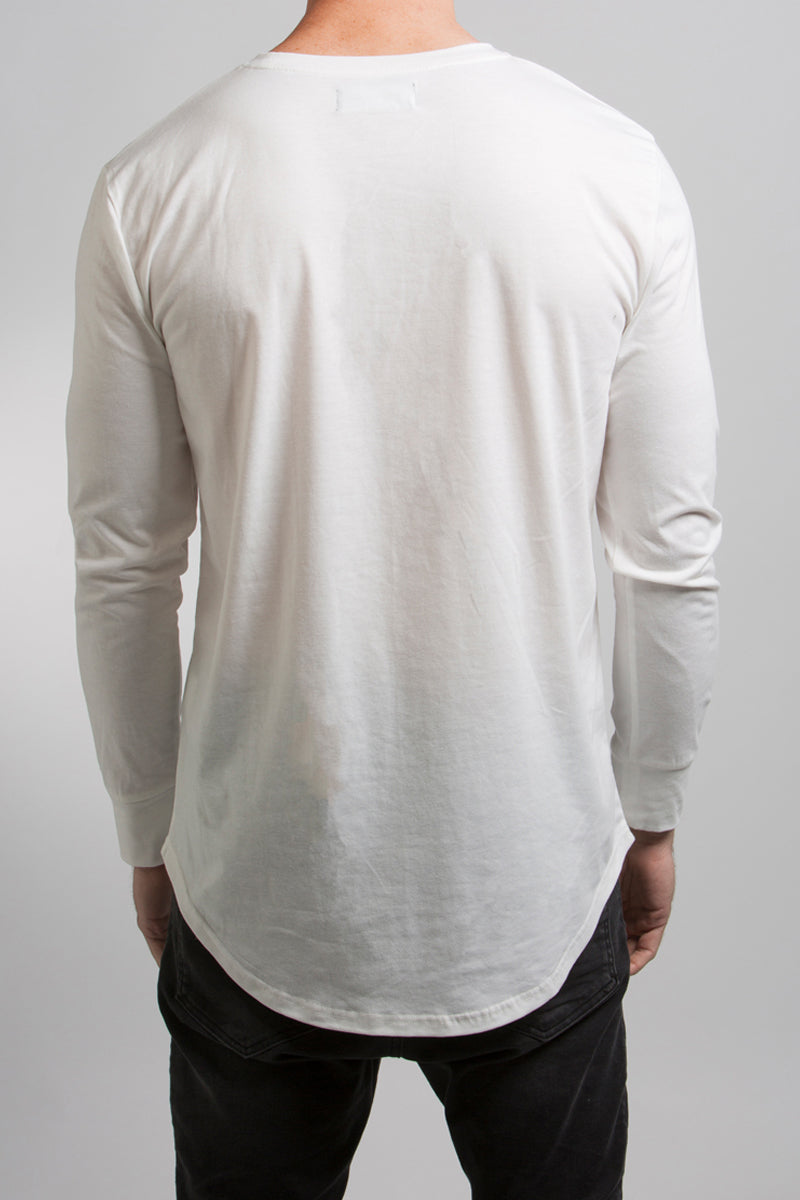 LS Scoop T-Shirt (White)