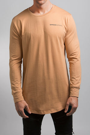 LS Scoop T-Shirt (Tan)