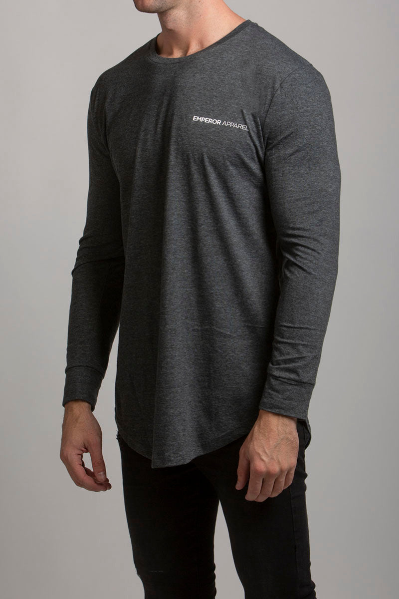 LS Scoop T-Shirt (Grey Marle)