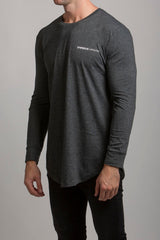 LS Scoop T-Shirt (Grey Marle) - 1 left!