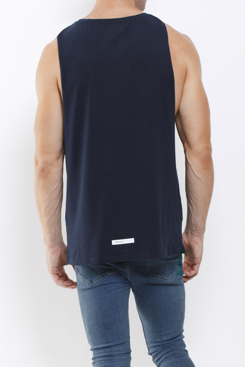 Midtown Tank Top (Navy) - 1 LEFT!