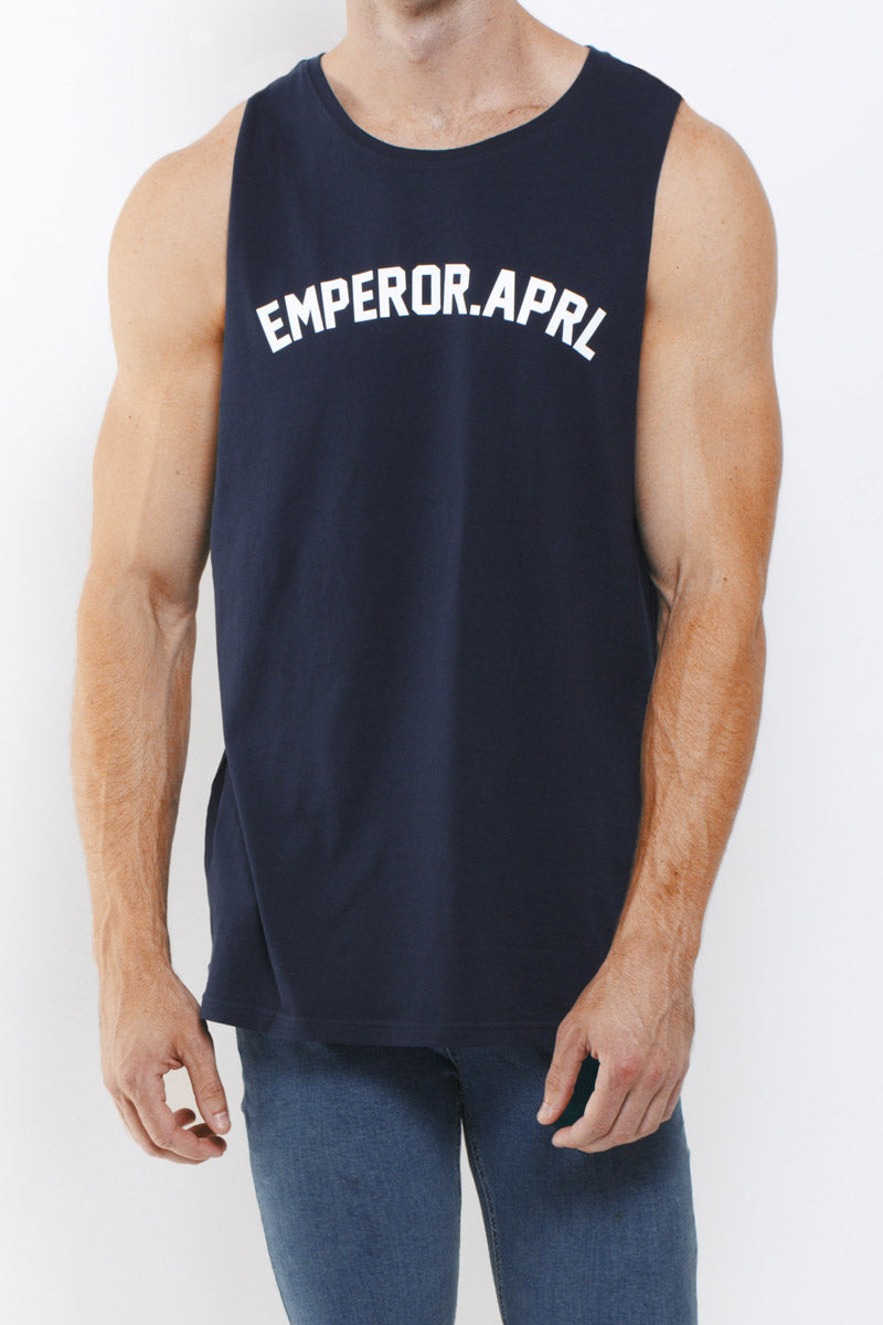 Midtown Tank Top (Navy) - 2 LEFT!