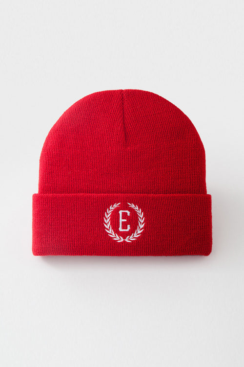 Oxford Beanie Hat (Red)