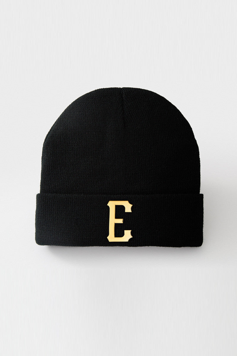 Palais Royal Beanie Hat (Black) - 2 left!
