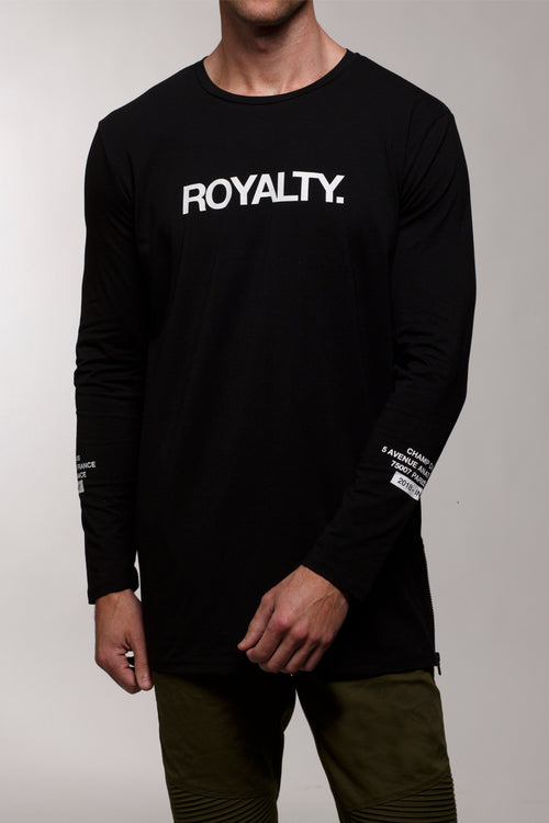Royalty L/S T-Shirt (Black)