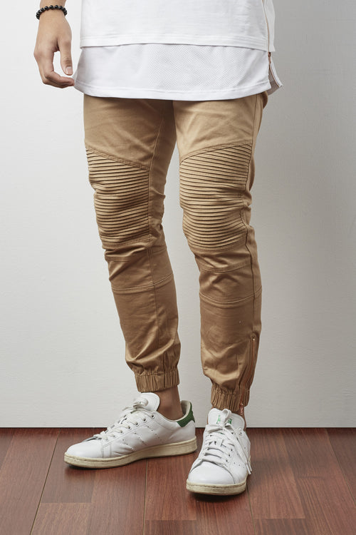 Sorrento Biker Pant (Tan)
