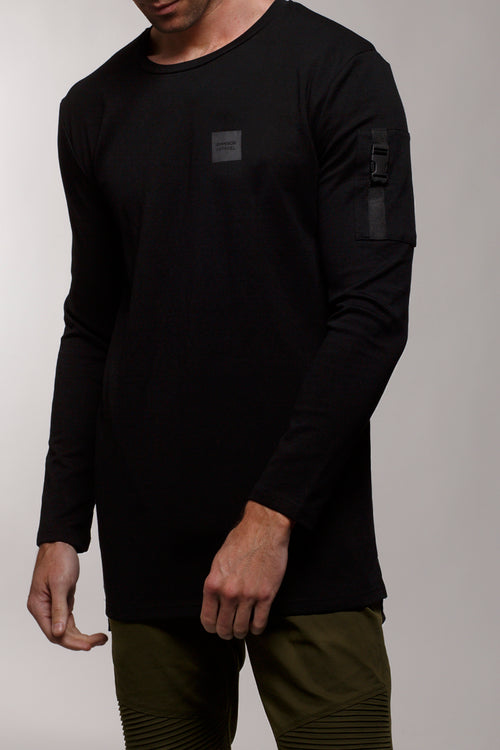 Stealth L/S T-Shirt (Black)