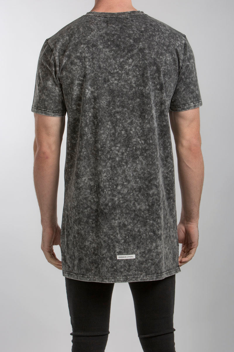 Men's Emperor Apparel designer Vogue acid wash t-shirt. Worldwide shipping on all online orders.