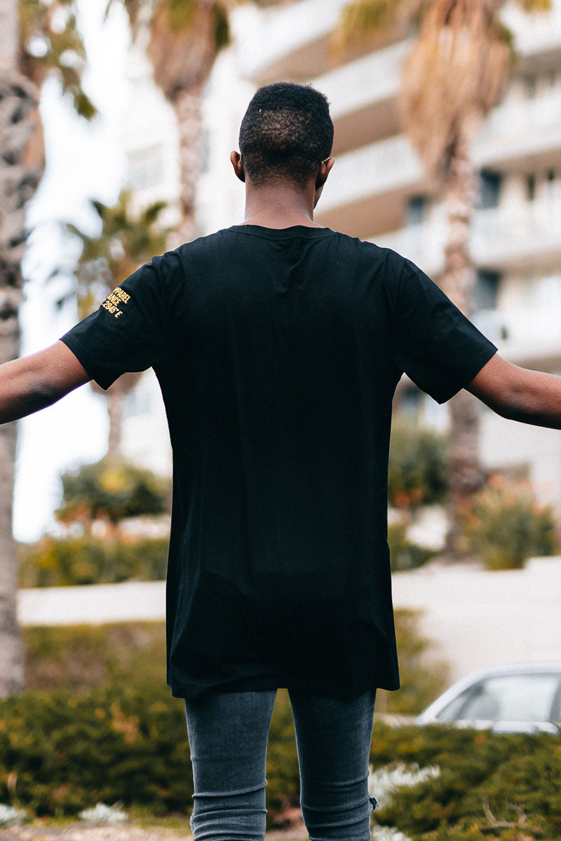 Block Logo T-Shirt (Black/Neon)