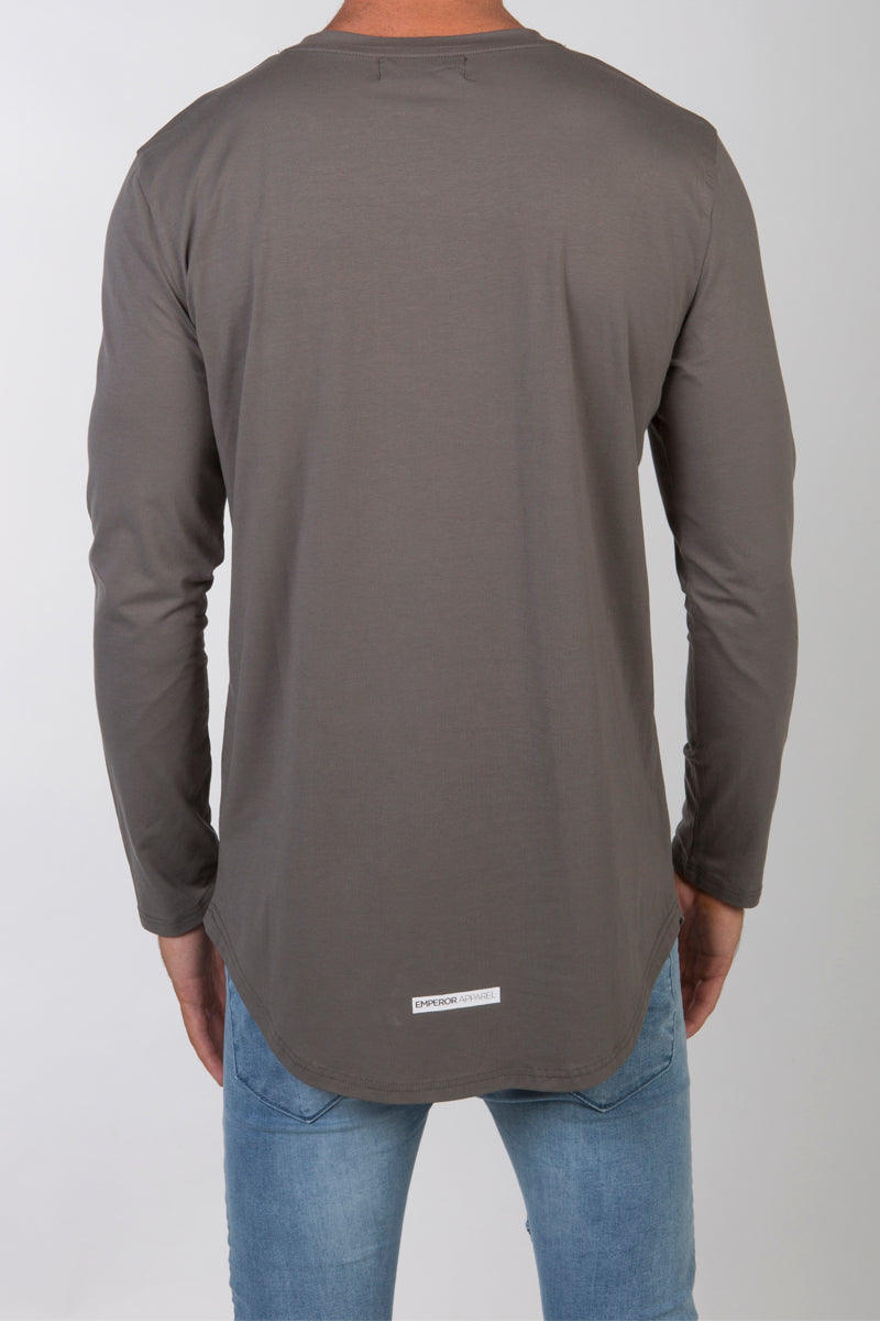 Gio L/S T-Shirt (Grey) - 2 left!