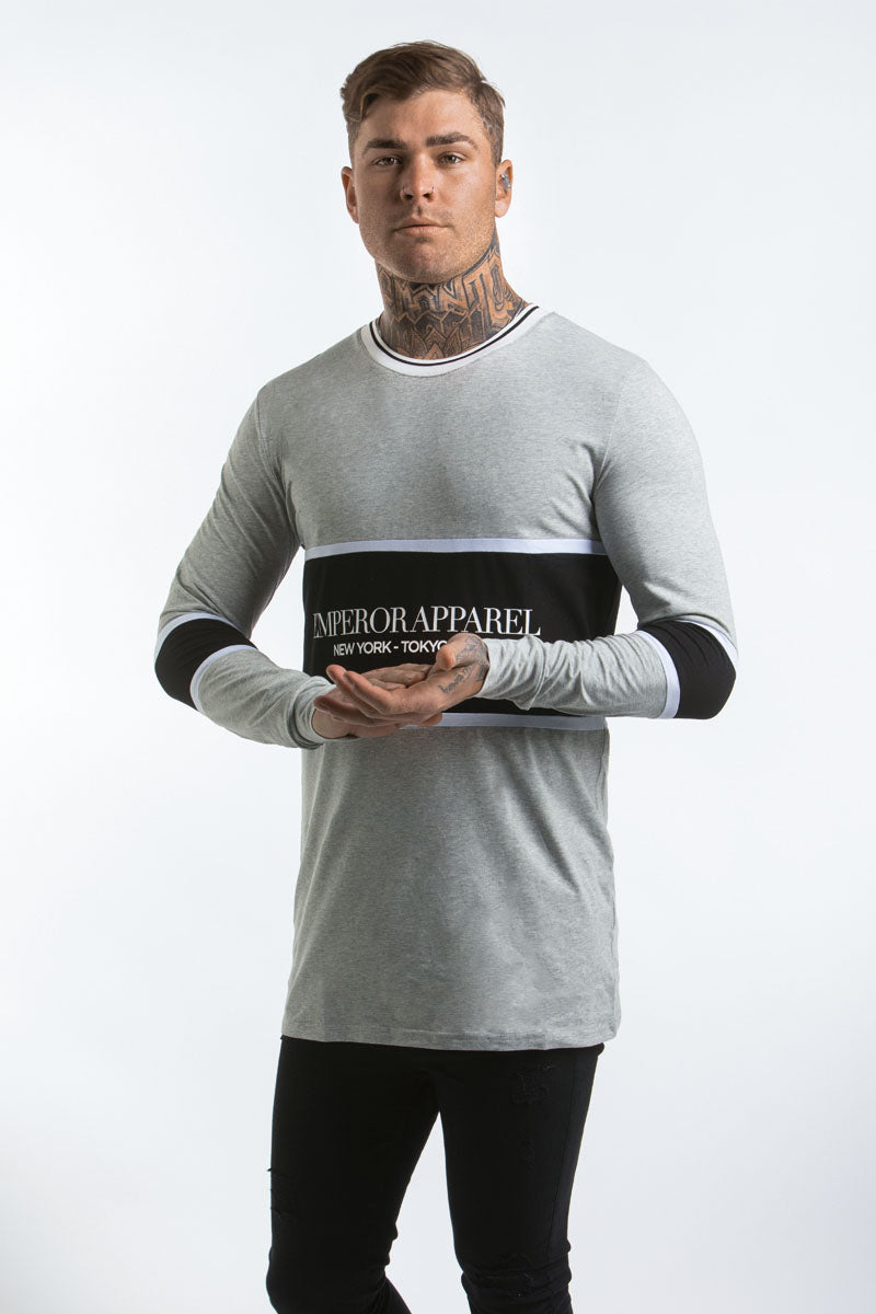 Times L/S T-Shirt (Grey Marle)