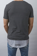 Mayfair T-shirt (Navy/Grey)