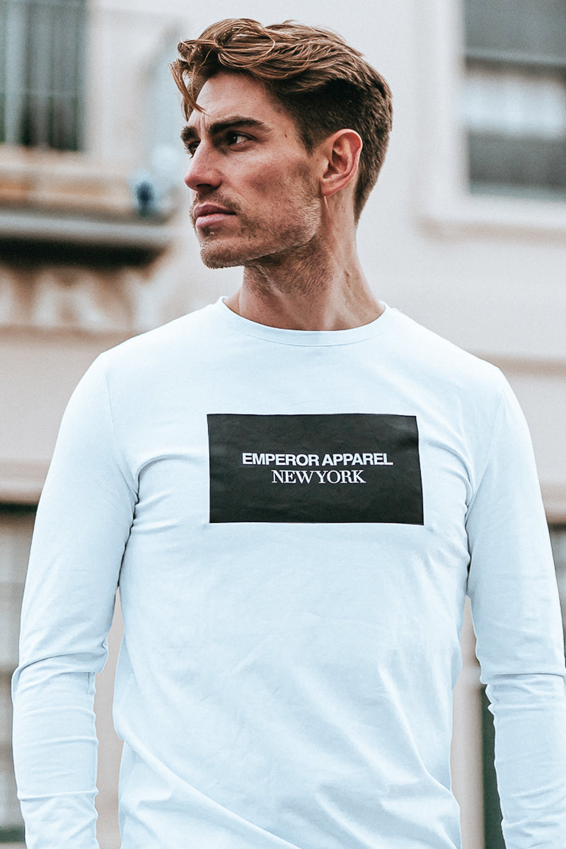 New York LS T-Shirt (White)