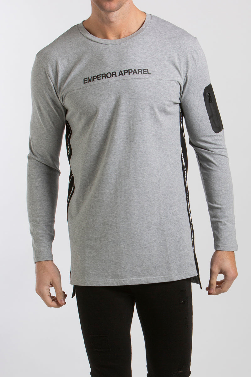 Sportstech L/S T-Shirt (Grey Marle) - 1 left!