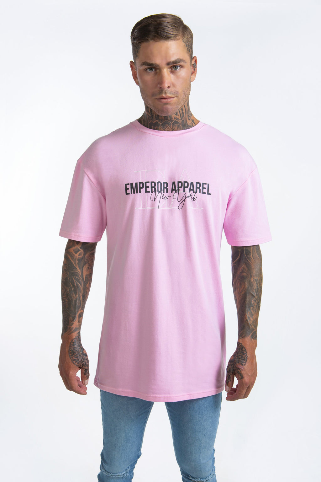 Pastel T-Shirt (Neon Pink & Orange) - 2 for $60