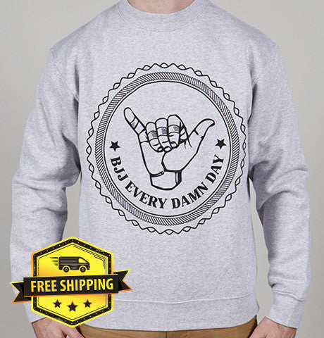 BJJ Every Damn Day Sweater