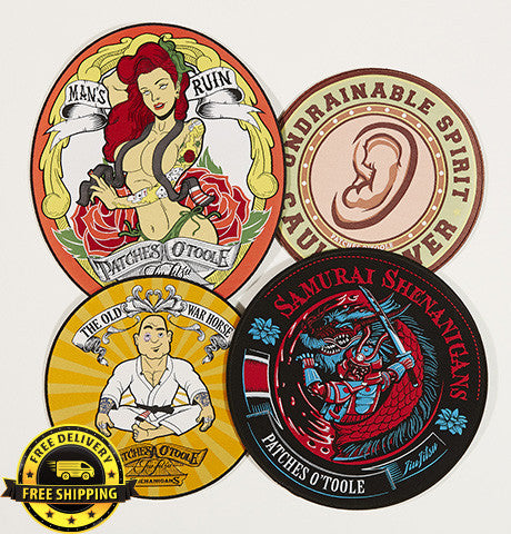 Combo Pack 3- BJJ Patches