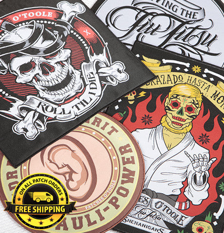 Combo Pack 2 - BJJ Patches