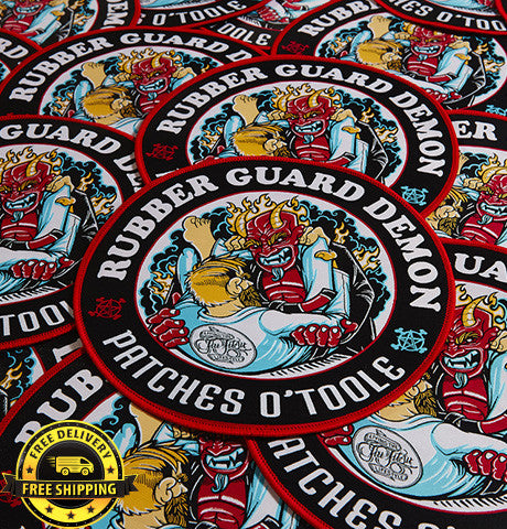 Rubber Guard Demon BJJ Patch