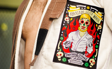Day of the Dead BJJ Patch