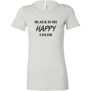 Women's Black is Happy T-Shirt