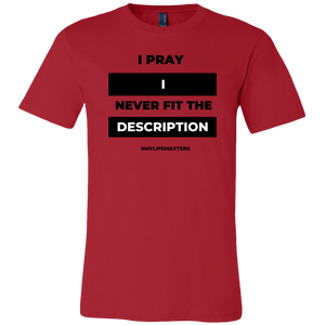 I Pray Personal Edition (Men's Cut)