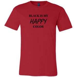 Men's Black is Happy T- Shirt