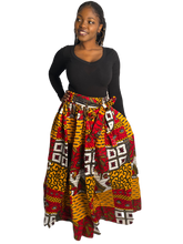 Load image into Gallery viewer, Tribal Skirt (Maxi and Midi)