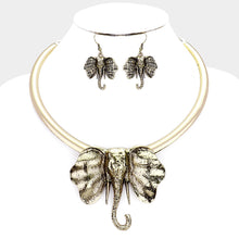 Load image into Gallery viewer, Antique Trunks Up Necklace Set (Multiple Colors)