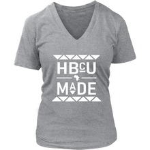 Load image into Gallery viewer, HBCU V- Neck T-Shirt
