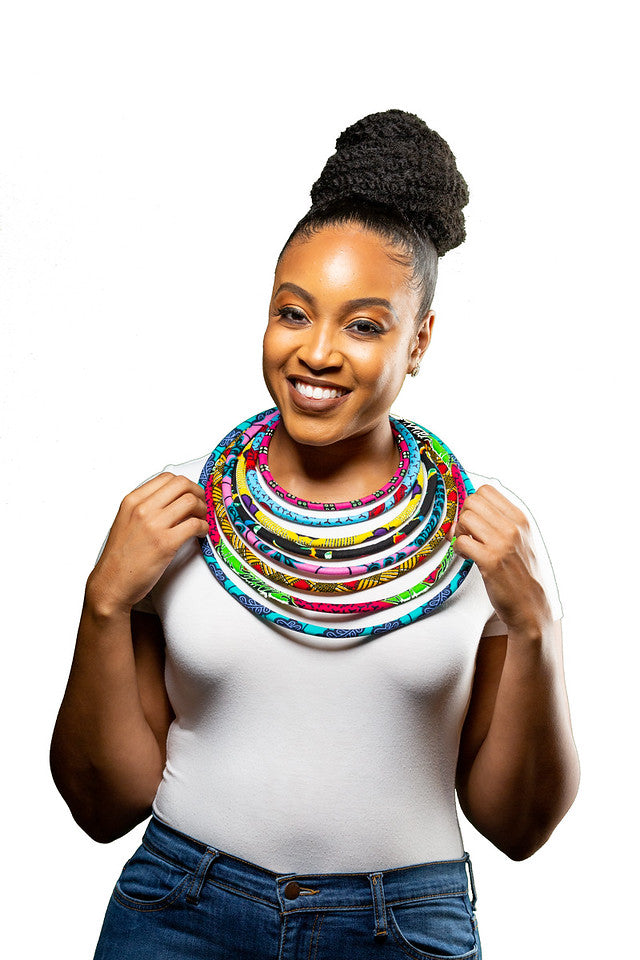 Layered Rope Necklace- Multi Color
