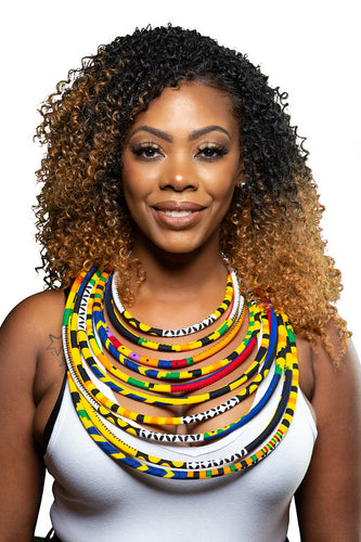 Kente Rope Necklace