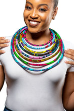 Load image into Gallery viewer, Layered Rope Necklace- Multi Color