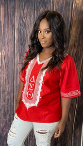 Embroidered Diva Blouse ships in up to 4weeks