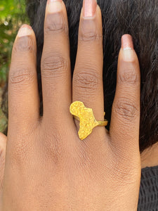 """It's Africa for me"" Brass Ring"