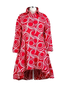 Ankara Hi Low Shirt/Dress