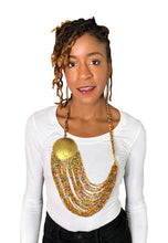 Load image into Gallery viewer, Multi Color Brass Necklace Set
