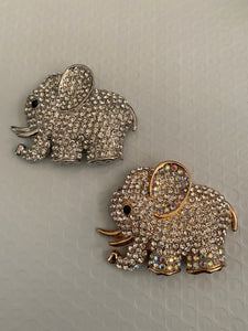 Elephant Brooch (Large size)