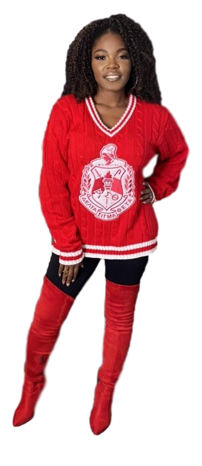 """Not your average"" Diva Crest Sweater"